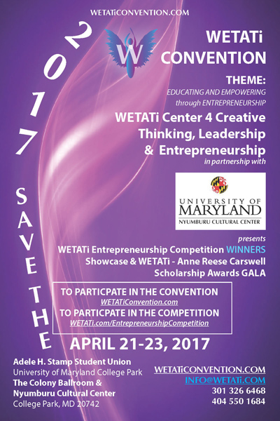 Save the Date for the WETATi 2017 Convention