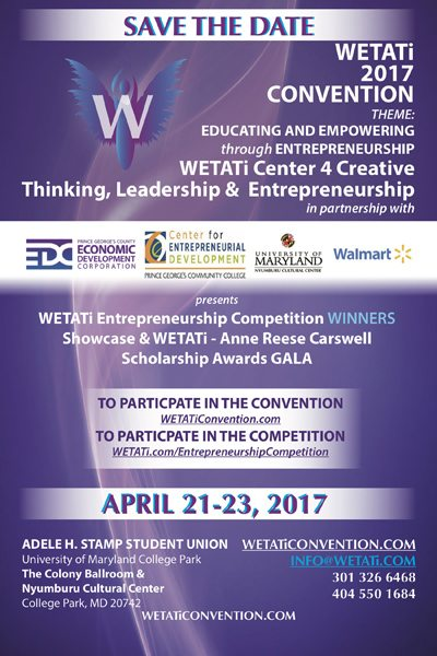 WETATi 2017 Convention - Save the Date!