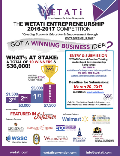 WETATi 2016-2017 Entrepreneurship Competition