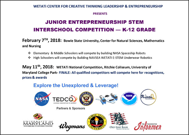 Junior Entrepreneurship STEM Interschool Competition